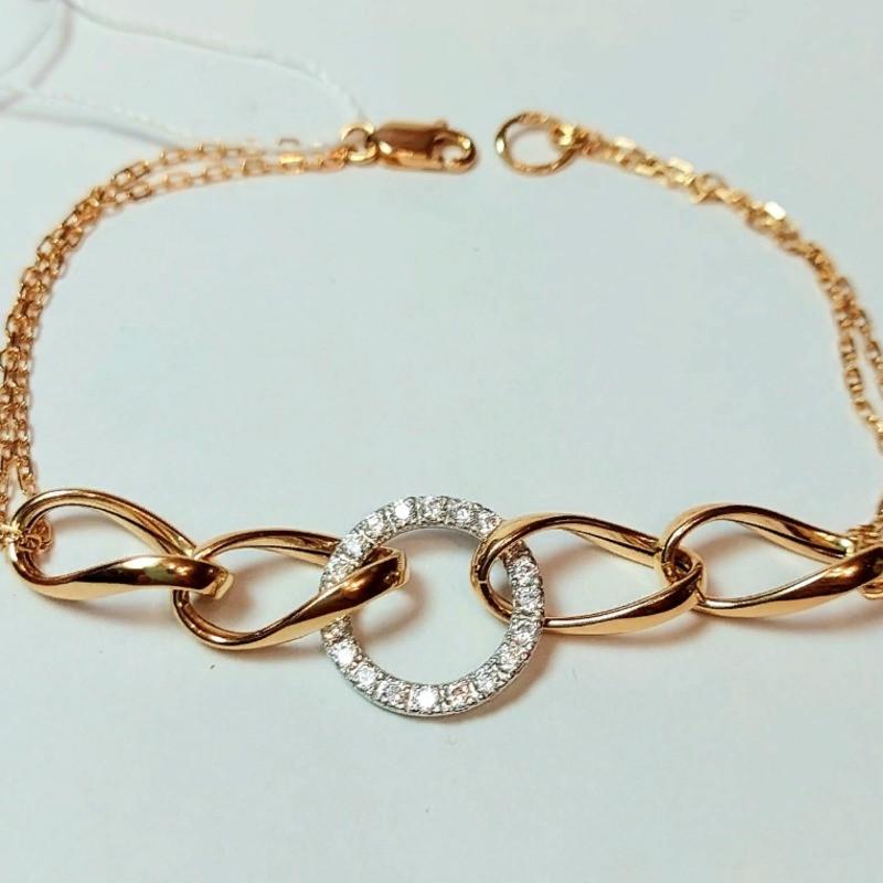 Золотой браслет 2,92 гр