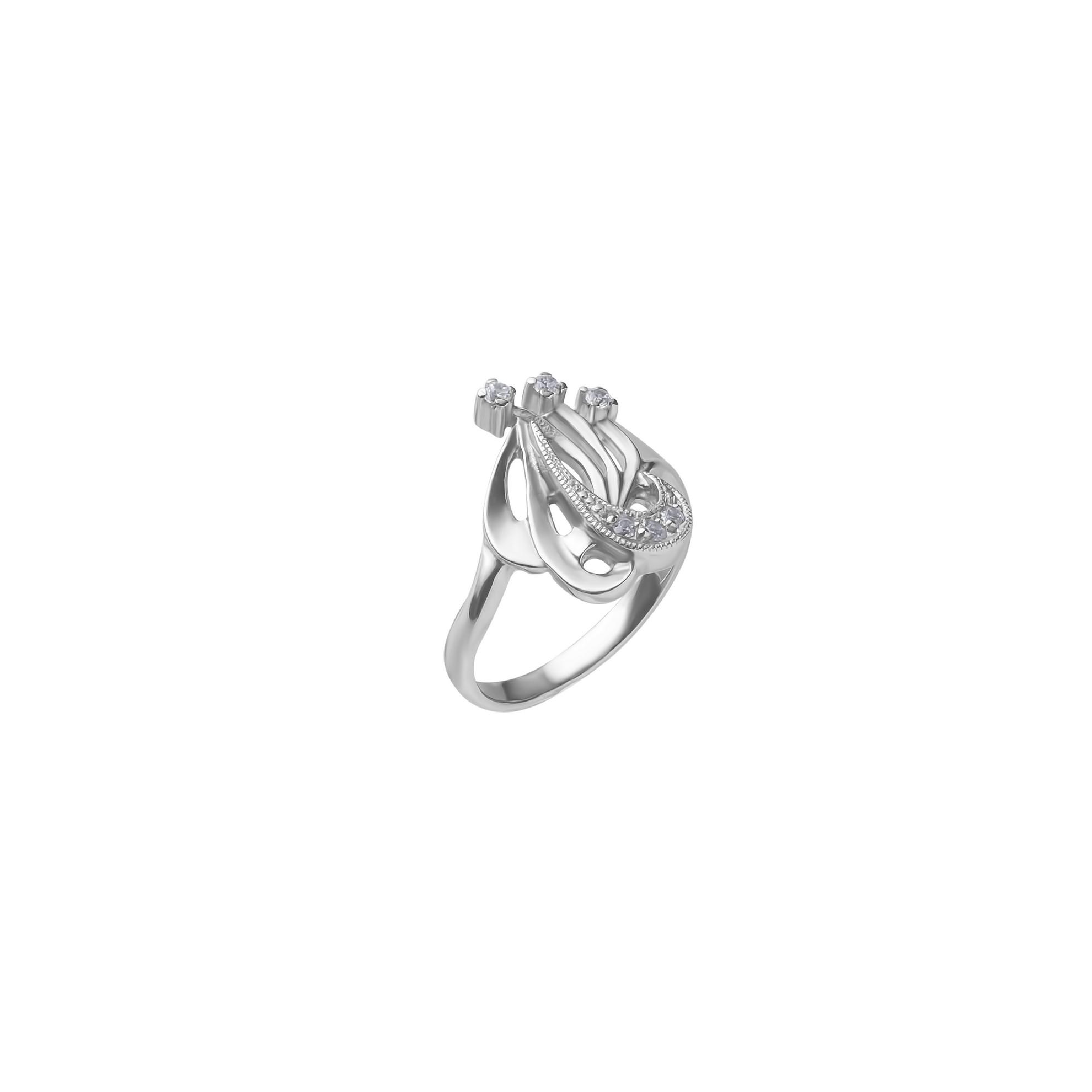 Кольцо из серебра арт. 1017