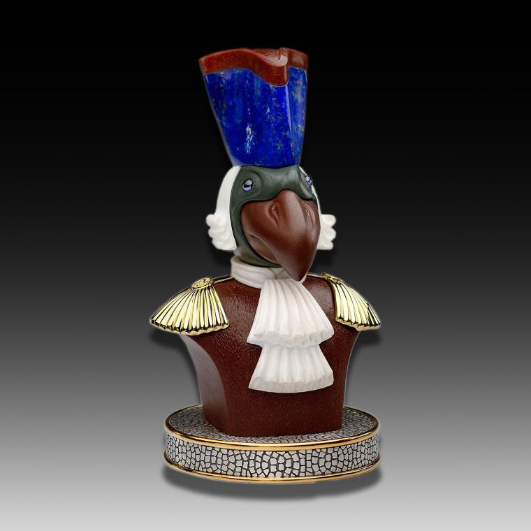 Камнерезная миниатюра «Птица»