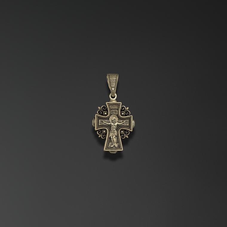 Крест поклонный «Казанский образ Пресвятой Богородицы»