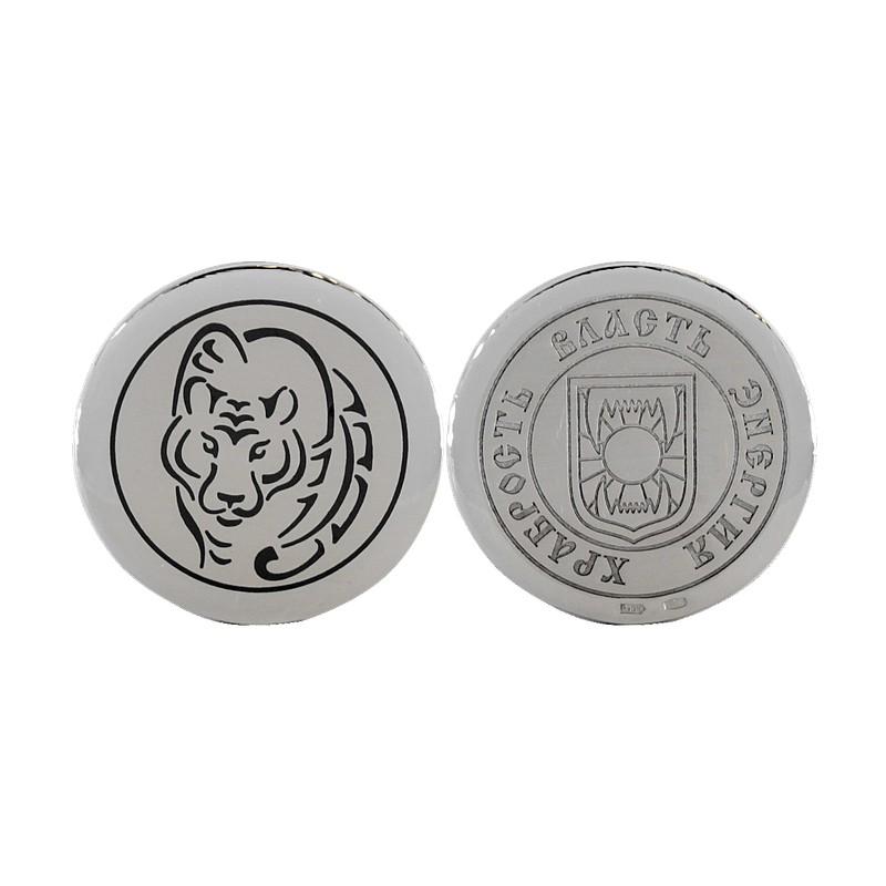 """монета сувенирная """"Тигр"""""""