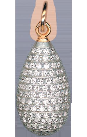 Пасхальное яйцо-подвеска