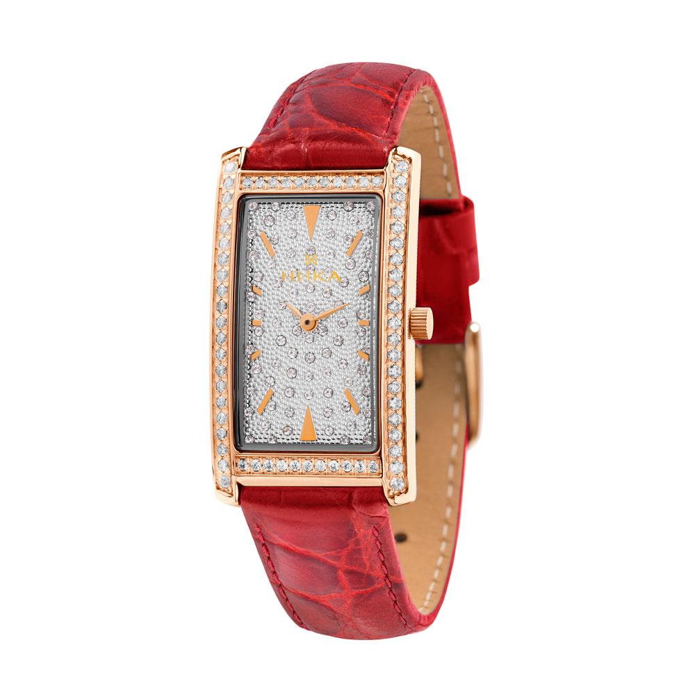 Золотые женские часы НИКА 0551.2.1.28H