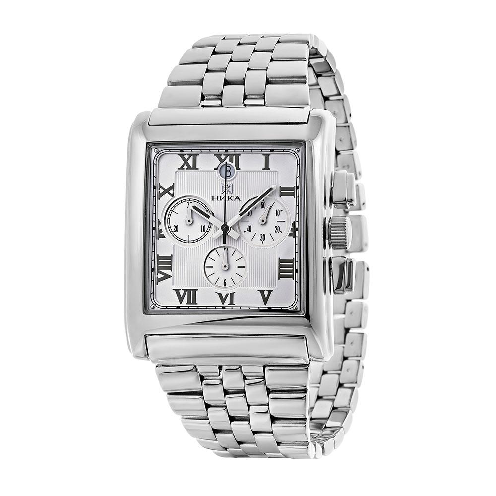 Серебряные мужские часы НИКА 1064.0.9.21H-01