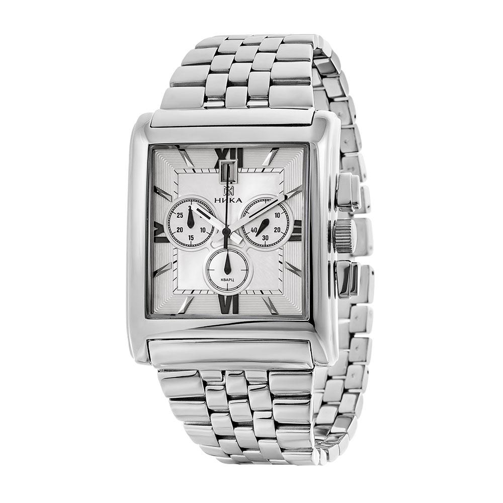 Серебряные мужские часы НИКА 1064.0.9.23H-01