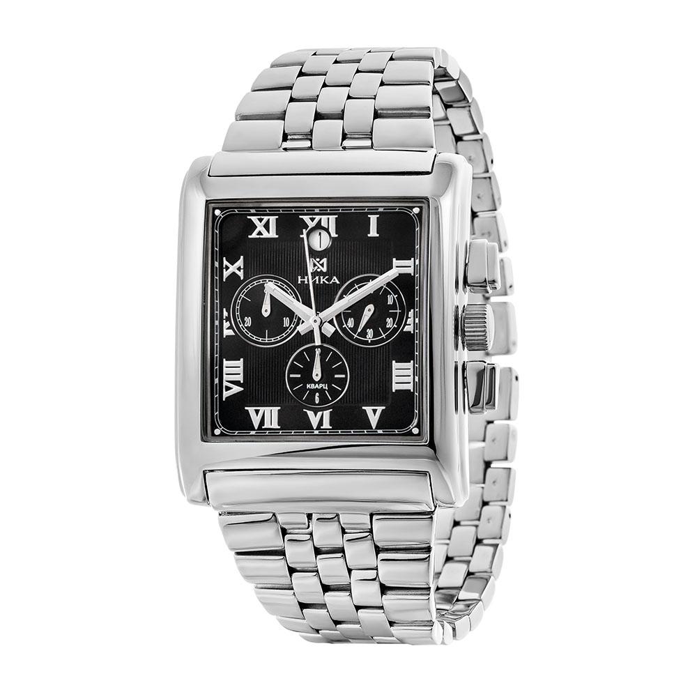 Серебряные мужские часы НИКА 1064.0.9.51H-01