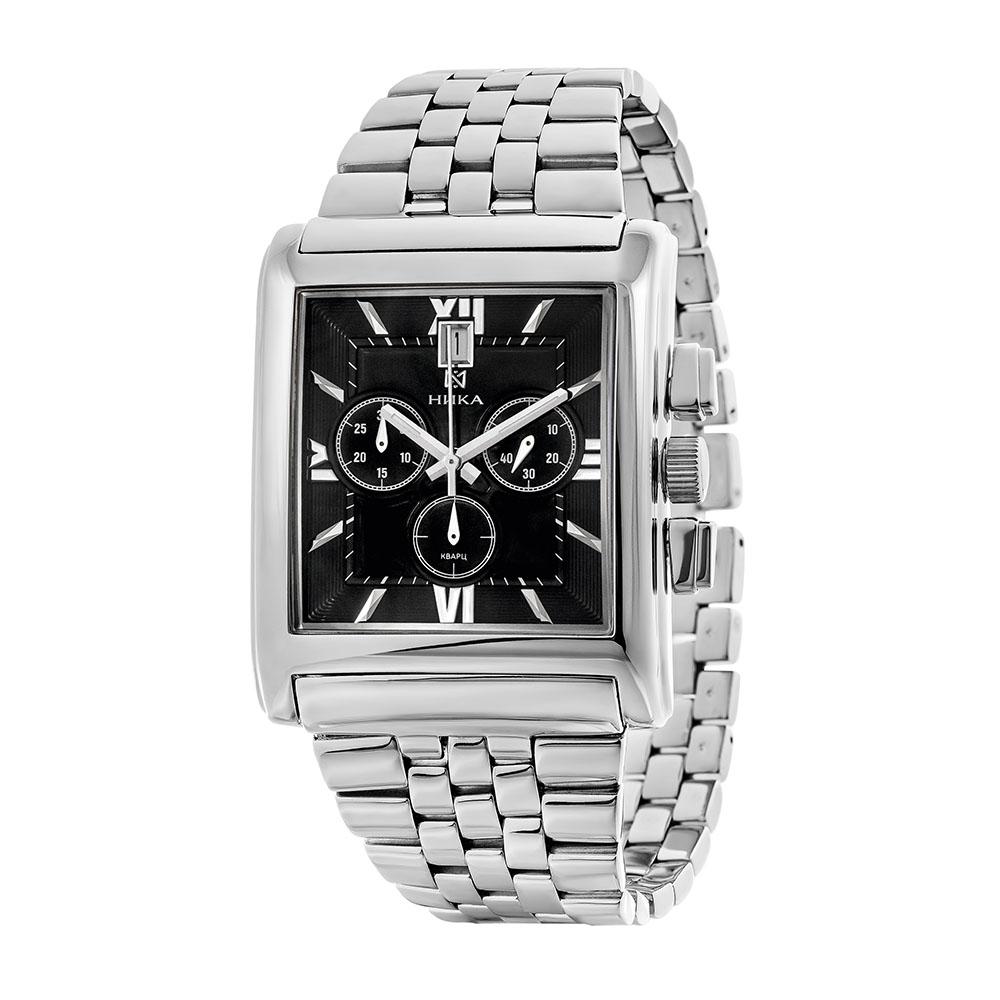 Серебряные мужские часы НИКА 1064.0.9.53H-01