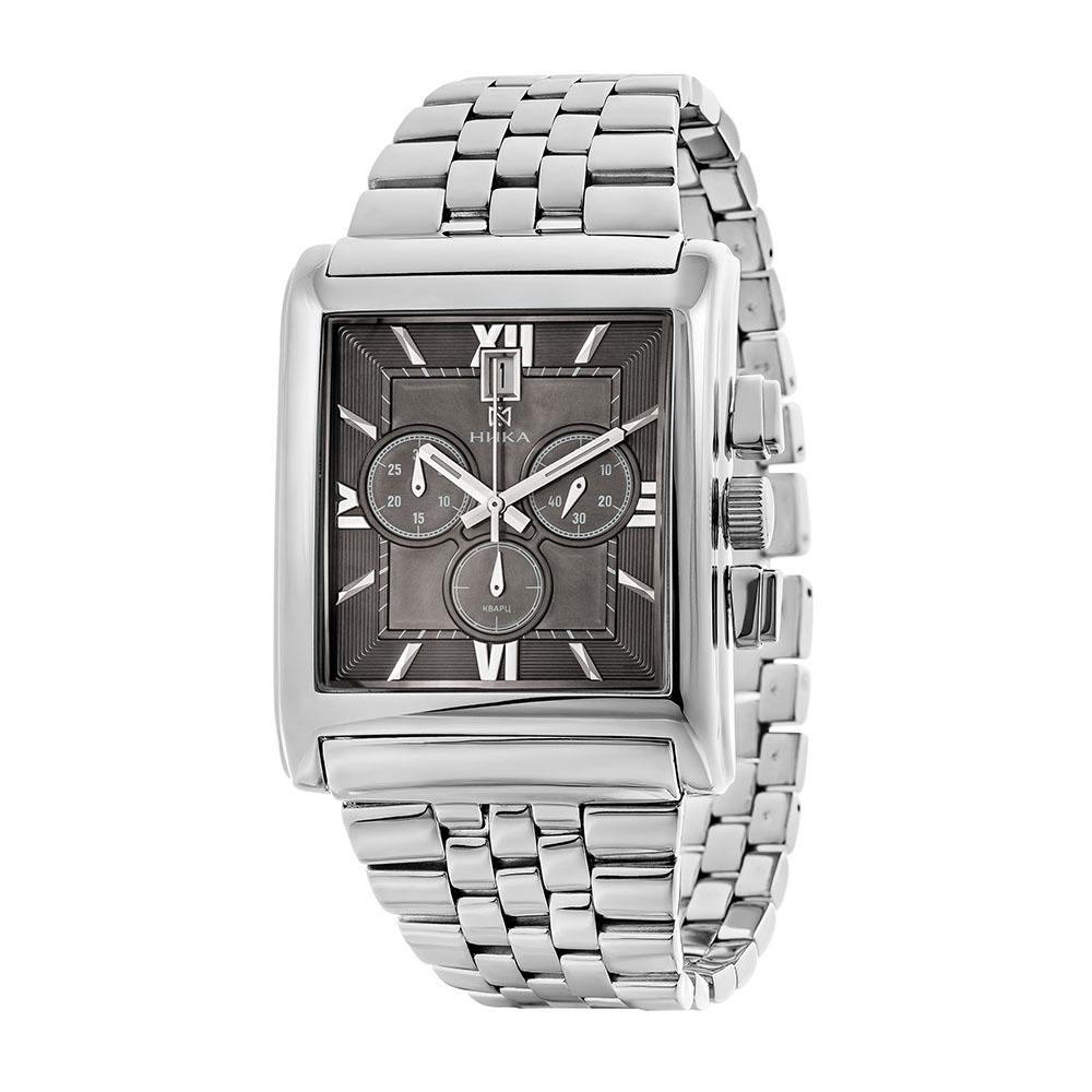Серебряные мужские часы НИКА 1064.0.9.73H-01